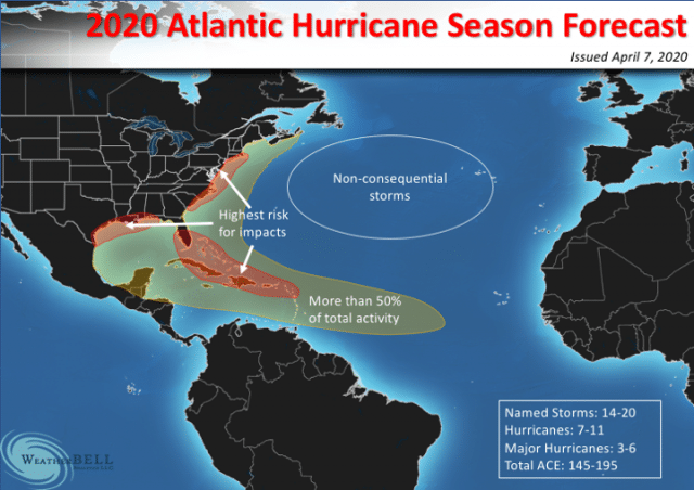 NOAA Announces We Will Likely Have Up To 25 More Named Storms This Year