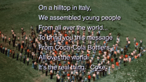 An Italian hilltop became the site of unity and impactful advertising and music
