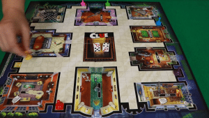 Anthony Pratt's wife Elva helped design the board we now associate with Clue