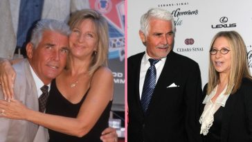 Barbra Streisand is sparking romance with husband James Brolin