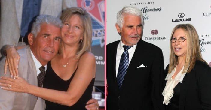 Barbra Streisand is sparking romance with husband James Brolin