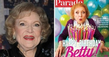 Betty White says she is grateful to grow older