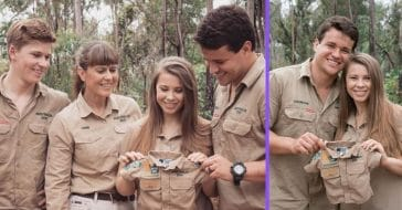 Bindi Irwin and husband Chandler Powell are expecting their first child