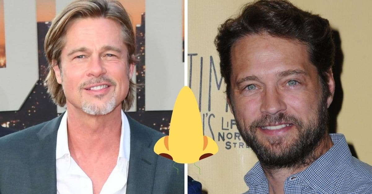 Brad Pitt And Jason Priestley Once Held 'Smelly Competitions' As Roommates