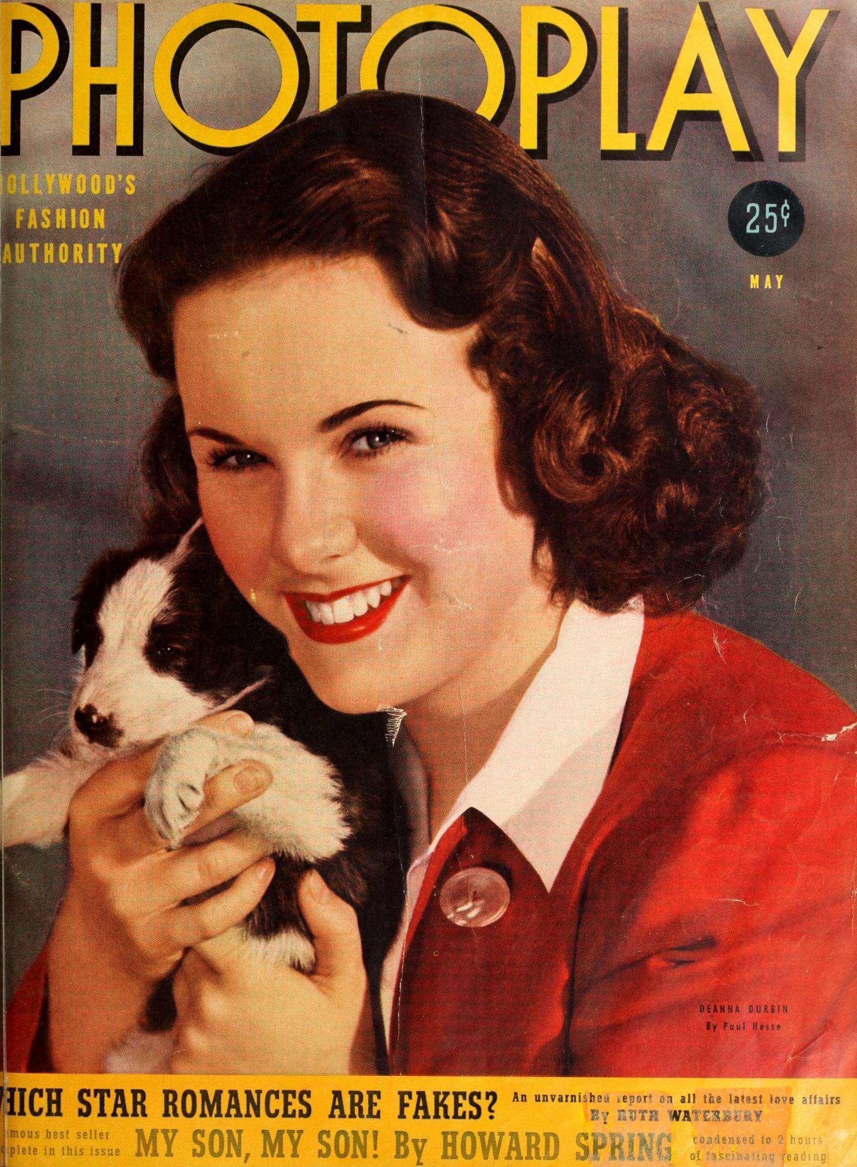 deanna durbin puppy magazine