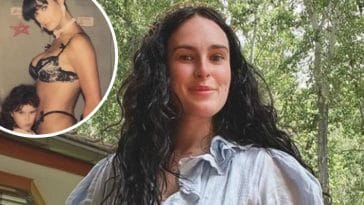 Demi Moore shares racy throwback photo to celebrate daughter Rumers birthday
