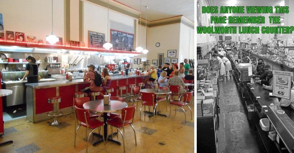The Interesting History Behind The Famous Woolworth's Lunch Counter