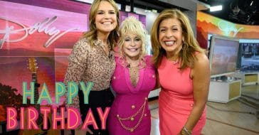 Dolly Parton sings special birthday song to tune of 9 to 5 for Hoda Kotb