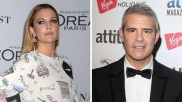 Drew Barrymore apologizes to Andy Cohen for being drunk on his show