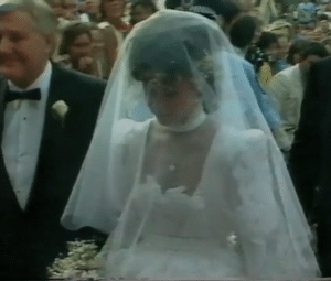 Elton John and Renate Blauel were married for four years