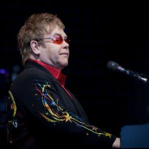 Elton John has not yet commented