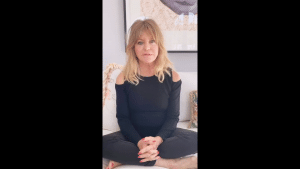 Goldie Hawn provides her fans with upbeat videos; Kate provided the loving bathing suit picture