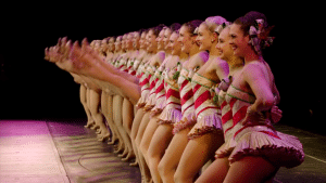 Hundreds of dancers work tirelessly to join and stay with the Rockettes each year
