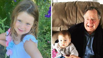 Jenna Bush Hager daughter Poppy is named after George HW Bush