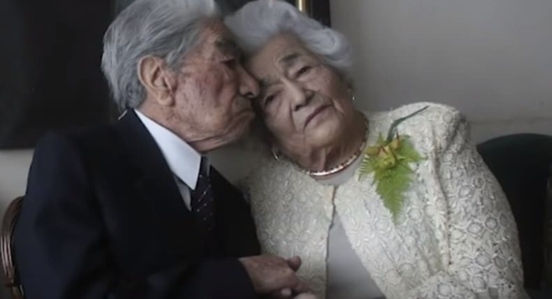 the worlds oldest married couple