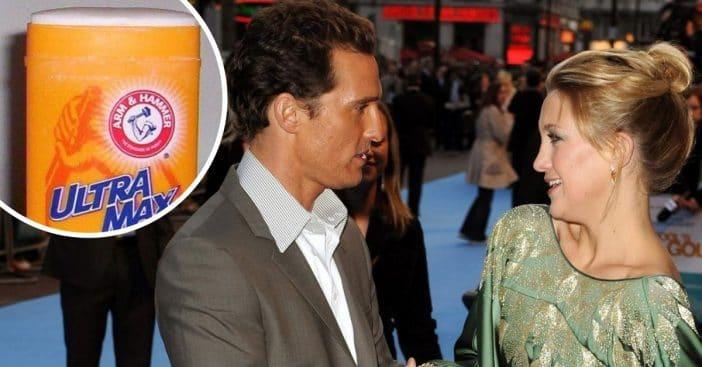 Kate Hudson tried to make Matthew McConaughey wear deodorant on set
