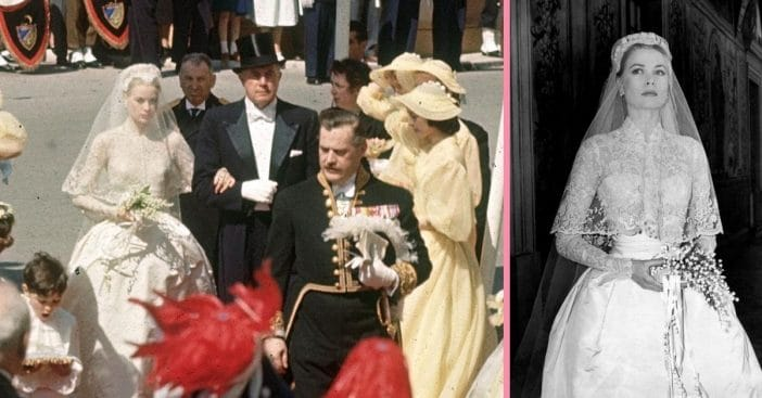 Learn more about Grace Kellys iconic wedding dress