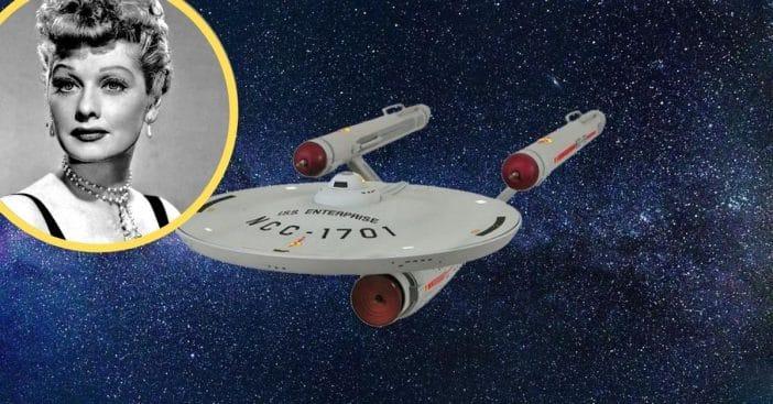 Lucille Ball saved 'Star Trek'