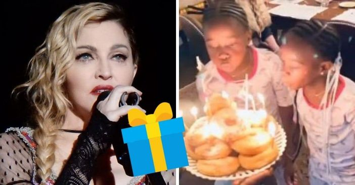 Madonna shares rare video of her twin girls on their birthday