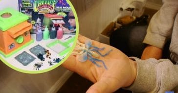 Making Creepy Crawlers offered a blend of prank opportunities and danger