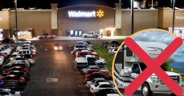 Many Walmart locations are banning overnight RV parking
