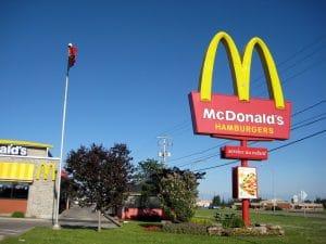 McDonald's changed its strategy