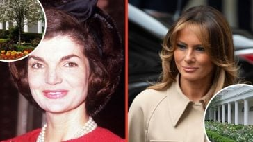 Melania Trump renovated Jackie Kennedy Rose Garden and people are mad