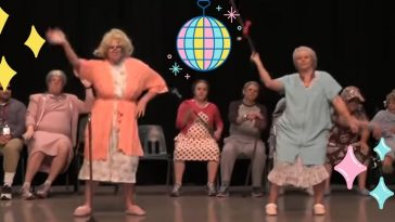 No one throws a dance party quite like these seniors