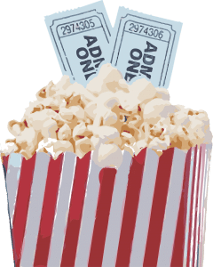 Popcorn and tickets get a reduced price