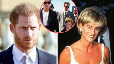 Prince Harry was upset after his mother Princess Diana inquest