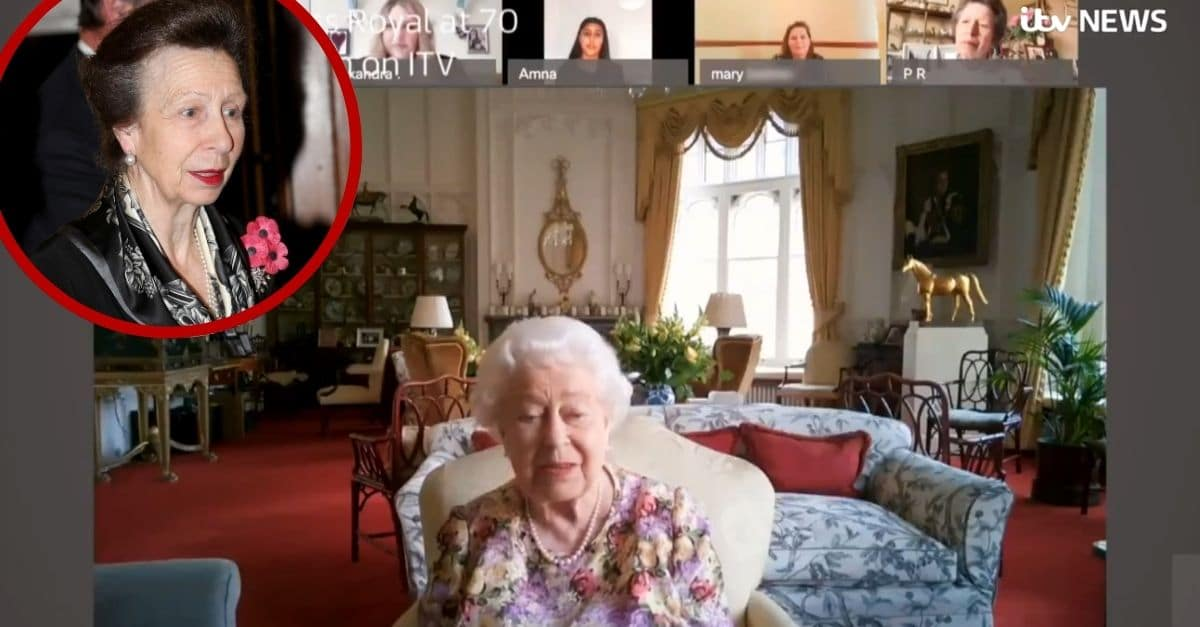 Go Behind The Scenes As Princess Anne Teaches The Queen How To Video Chat