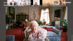 Queen Elizabeth used Webex for her very first video call, but first she had to learn it
