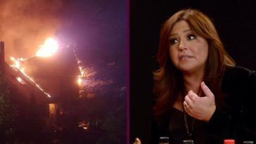 Rachael Ray's house was burned but her family is safe