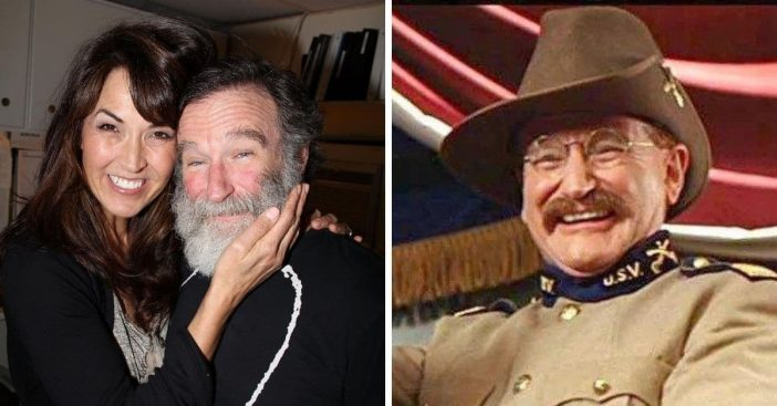 Robin Williams widow says he changed during filming of Night at the Museum 3