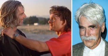 Sam Elliott remembers late co star and friend Patrick Swayze