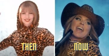 Shania Twain recreates one of her most iconic leopard print outfits