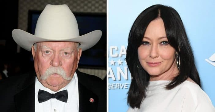 Shannen Doherty remembers late co star and friend Wilford Brimley