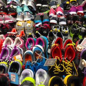 Sneakers attracted a lot of popularity