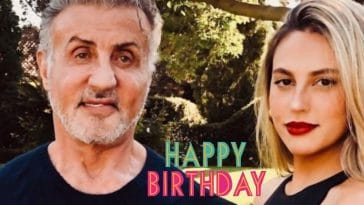 Sylvester Stallone shares message for his daughter birthday