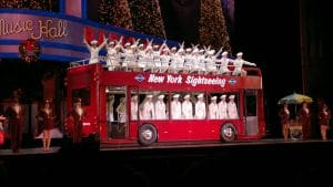 The Radio City Christmas Spectacular usually occurs from November to January