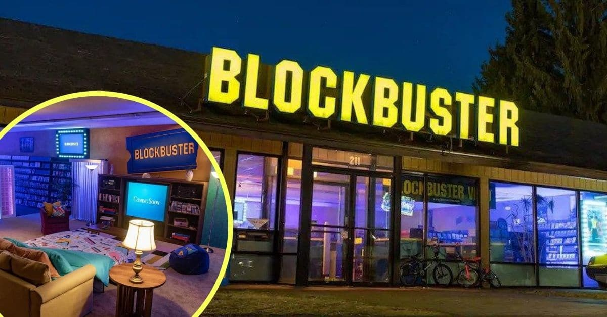 You Can Now Stay A Night At The World's Last Blockbuster