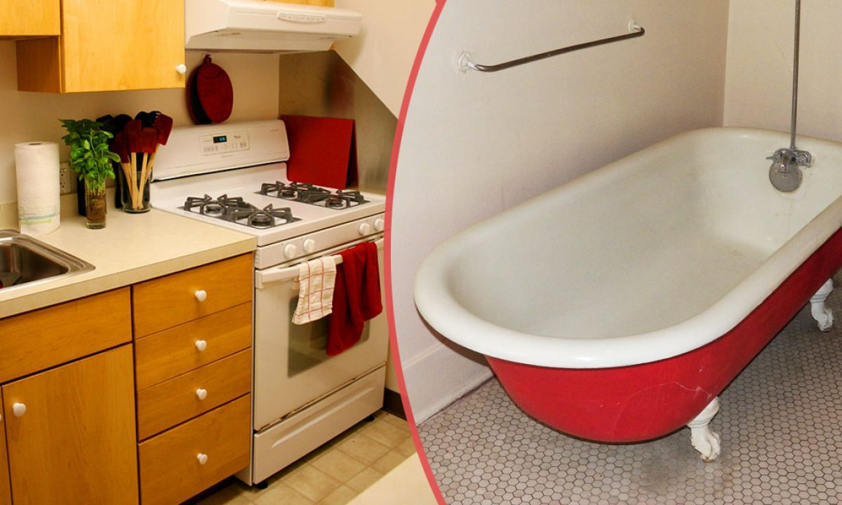 This Is Why Some Ny Apartments Had Bathtubs In The Kitchen