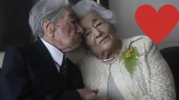 This couple is now the worlds oldest living married couple
