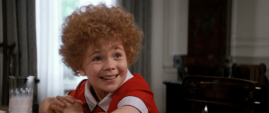 Thousands of girls tried out for the role of Annie