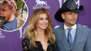 Tim McGraw shares photo of Faith Hill new look in quarantine