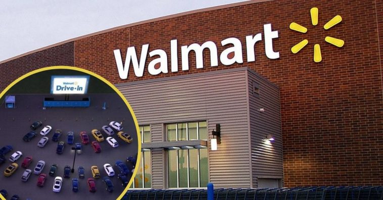 Walmart offering drive in movie nights in parking lots