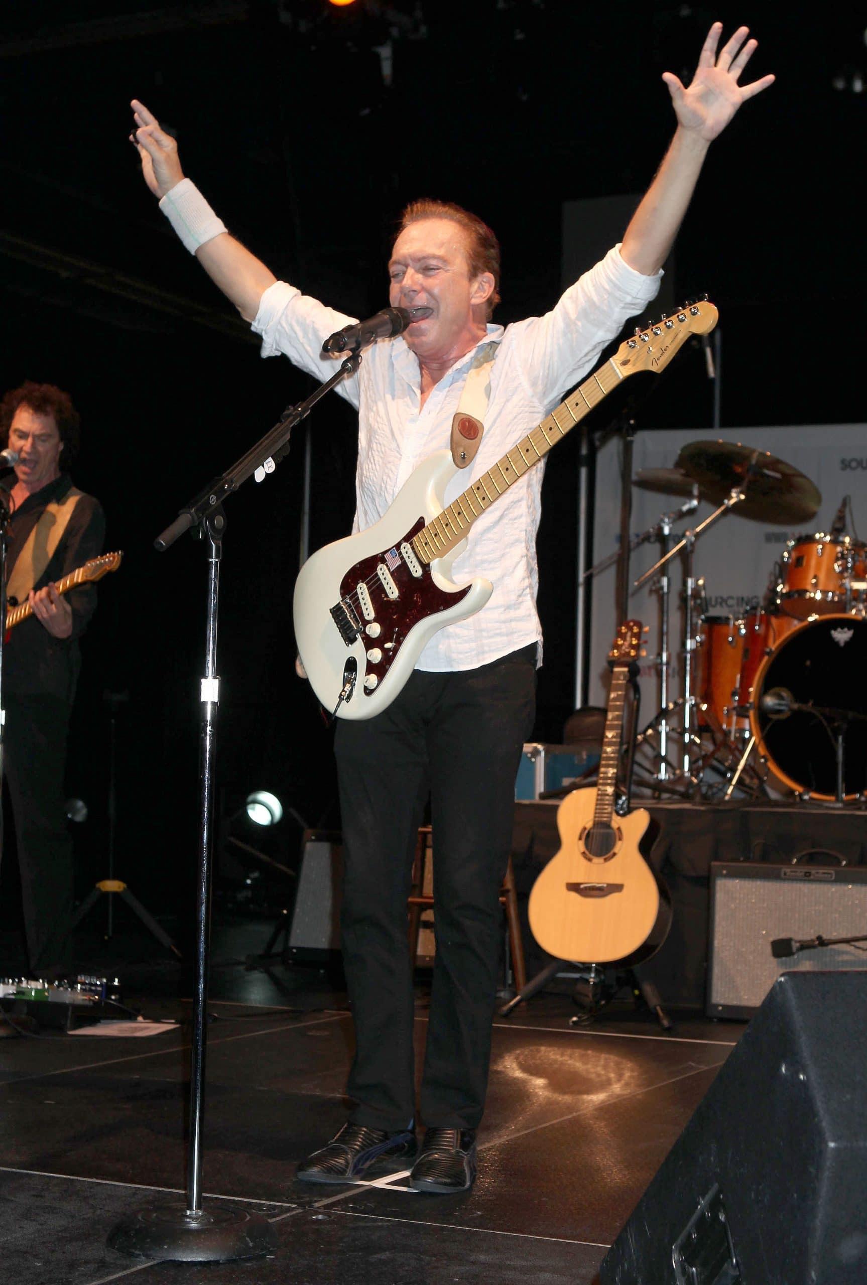 david cassidy performing