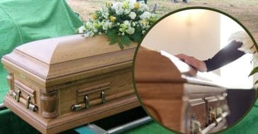 dead woman found to be breathing at funeral