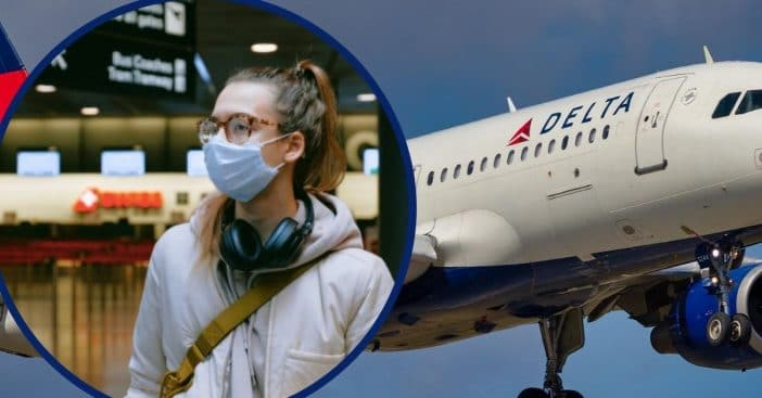 delta removes two passengers not wearing facemasks