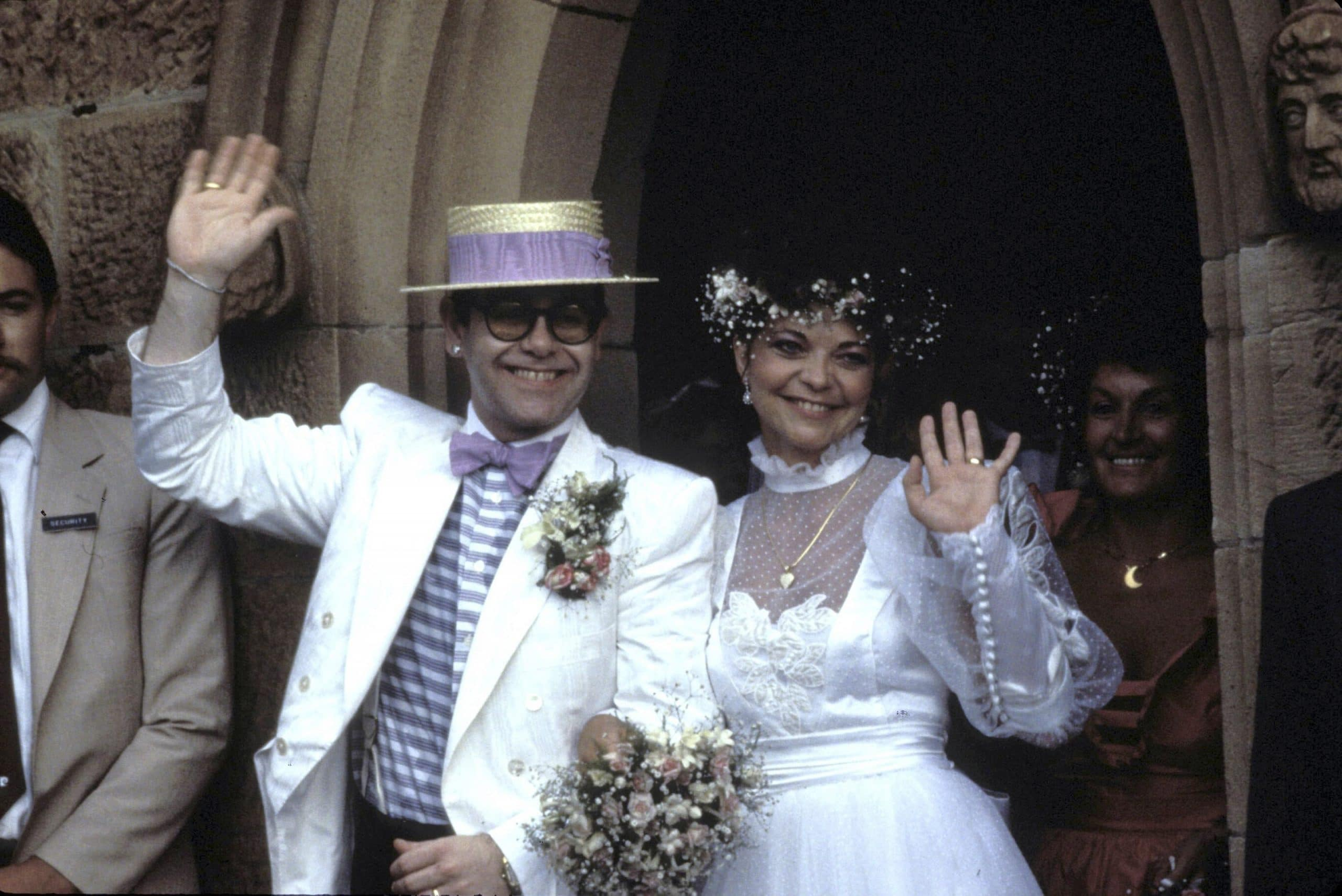 renate blauel attempted suicide on honeymoon with elton john
